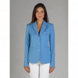 Naska Lady - Veste de concours équestre - Modèle femme - couleur Bleu ciel