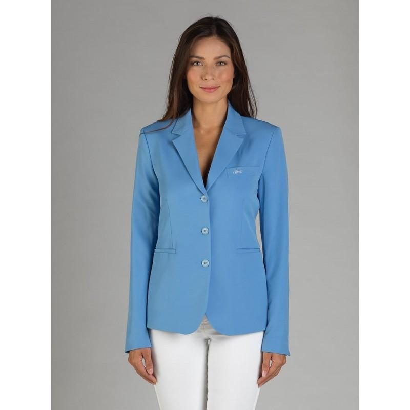 Naska Lady - Equestrian show jacket - For Woman - color sky blue