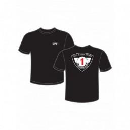Tee-shirt KRT noir pour homme