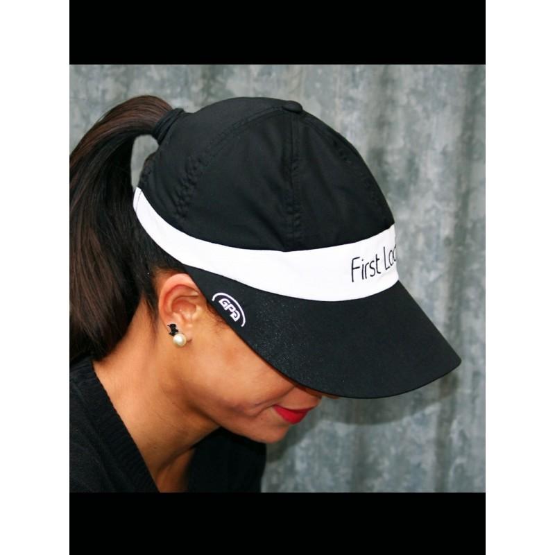 Black and White GPA FIRST LADY Baseball cap visor