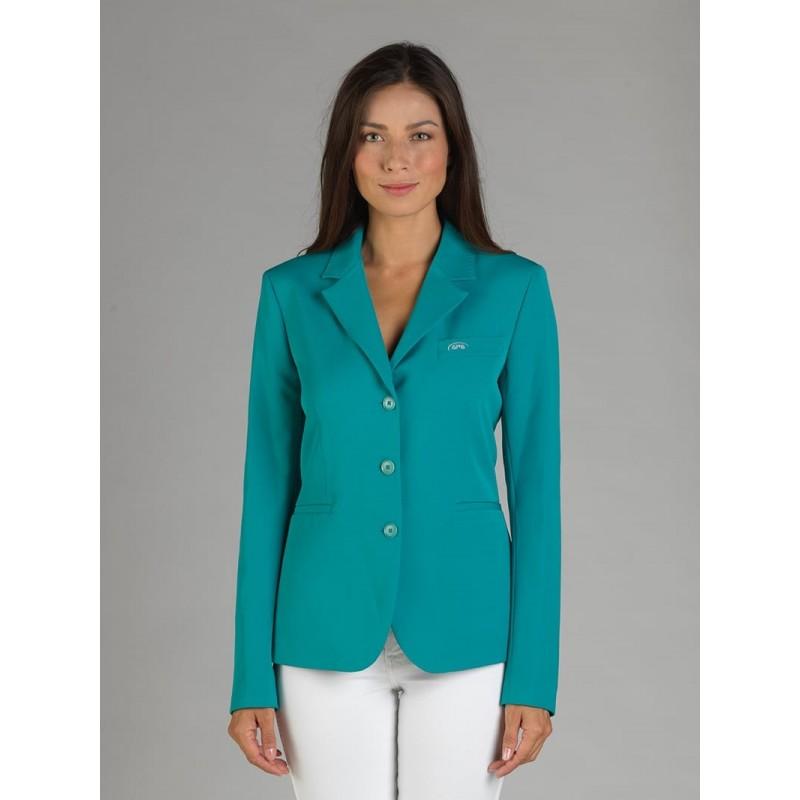 Naska Lady - Equestrian show jacket - For woman - Color Emerald green