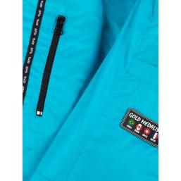 Collection Capsule - Modèle moon men - Edition limitée - Doudoune pour homme Couleur bleu turquoise