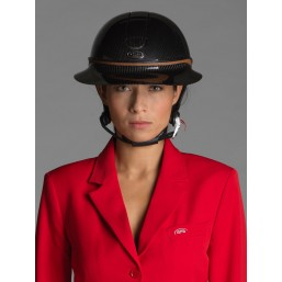 Naska Lady - Equestrian show jacket - For Woman - color red