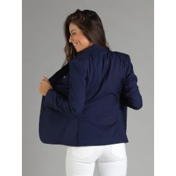 Naska Lady - Equestrian show jacket - For Woman - color Navy