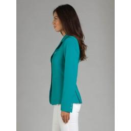 Naska Lady - Veste de concours équestre - Modèle femme - couleur vert émeraude