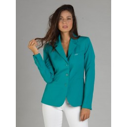 Naska Lady - Equestrian show jacket - For woman - Color Emerald green
