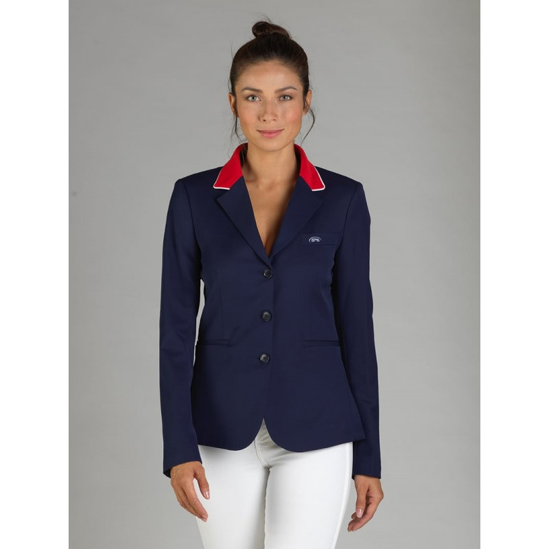 Veste concours femme bleu marine